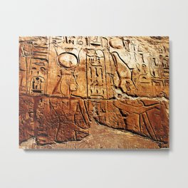 """""""A Story In Egypt"""" Metal Print"""