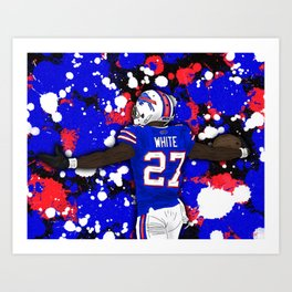 Sundays are for the Bills Art Print