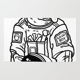 Astronaut Space Gift Spaceship All Ufo Rug