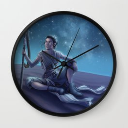 The Scavenger Wall Clock