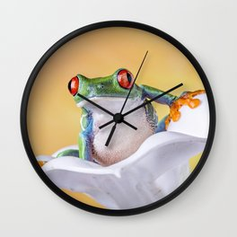 Are You Sitting Comfortably? Wall Clock