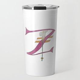 Z is for Zantedeschia Travel Mug
