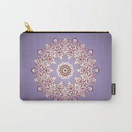 Flower Bud Mandala Carry-All Pouch