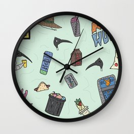 Th Bogan Collective Wall Clock