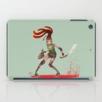 roller derby iPad Cases featuring Roller Derby by Doriane  *BamboO*