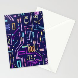 Circuits Stationery Cards