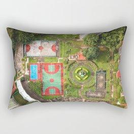 Singapore aerial drone Rectangular Pillow