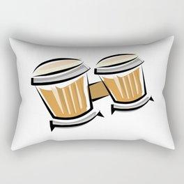 Bongos Rectangular Pillow
