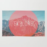 explore Area & Throw Rugs featuring Explore by Zeke Tucker