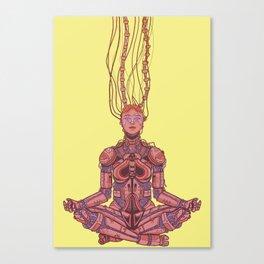 Cyborg Dreams Canvas Print