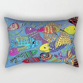 Beautiful Fish Rectangular Pillow