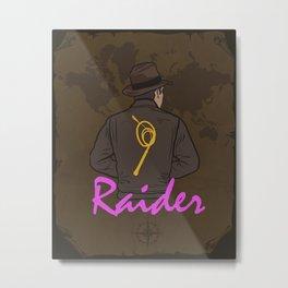 Raider Metal Print