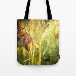 Fox and Hound Tote Bag