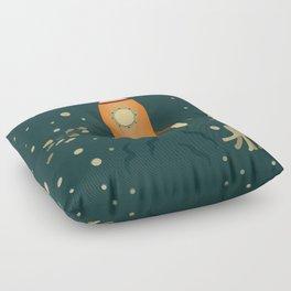 Spaceship Underwater Floor Pillow