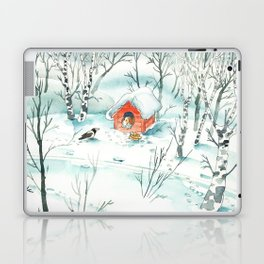The Magpie and the Dog Laptop & iPad Skin