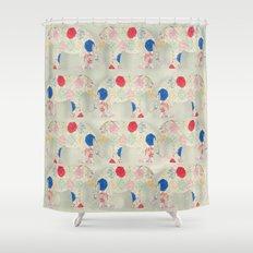 The Elephant in the Room -- Whimsical Nursery Art and Decor Shower Curtain