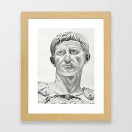 Augustus Caesar Framed Art Print