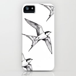 The Swallow iPhone Case