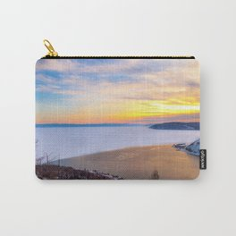 Lake Baikal and Angara River Carry-All Pouch