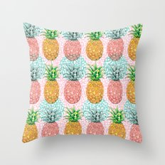 Pineapple Candy Throw Pillow