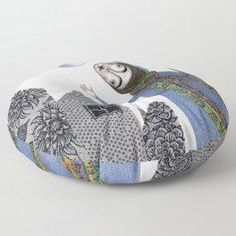 Rainbow Mine (2) Floor Pillow