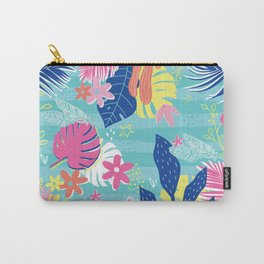 Tropical Vibes Carry-All Pouch