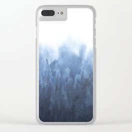 Indigo Forest Clear iPhone Case