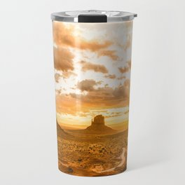 Southwest Wanderlust - Monument Valley Sunrise Nature Photography Travel Mug