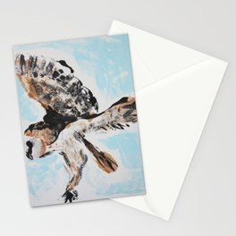 Barn Owl in Flight Stationery Cards