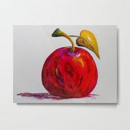 Kaleidoscope Apple or APPLE FOR THE TEACHER Metal Print