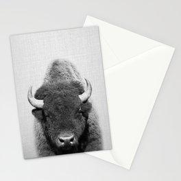 Buffalo - Black & White Stationery Cards