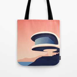 Soviet Modernism: Writers' Resort in Sevan, Armenia Tote Bag