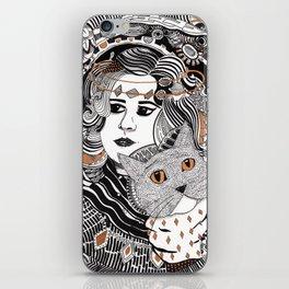 Capable Cat iPhone Skin