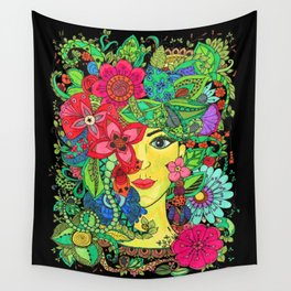 Pritty Wall Tapestry