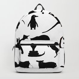 Animals Collection Silhouette Backpack