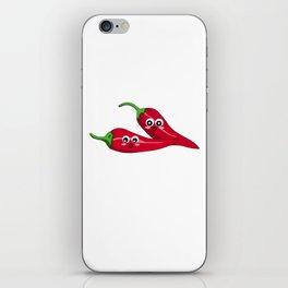 You're So Hot Cute Chilli Pepper Pun iPhone Skin