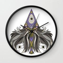 Twin Spade Wall Clock