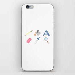 An Artist's Tools iPhone Skin