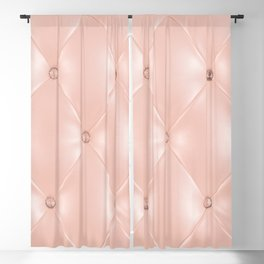 Old rose, pink, Background and texture with Leather for luxury sofa Blackout Curtain