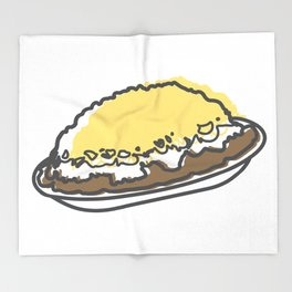 Skyline Chili Three Way Throw Blanket