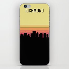 Richmond Skyline iPhone Skin