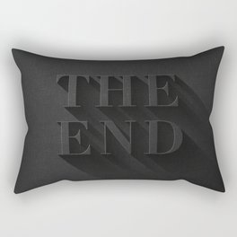THE END Rectangular Pillow