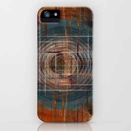 Unoccupied Digital Landscape iPhone Case