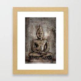 Klassischer Budda Framed Art Print
