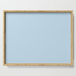 Dunn and Edwards 2019 Curated Colors Island View (Pastel Baby Blue) DE5848 Solid Color Serving Tray