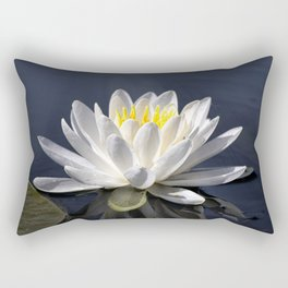 First Bloom - Water Lily Rectangular Pillow