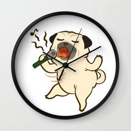 Sing Sing Sing Wall Clock