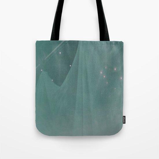 Green ghost Tote Bag