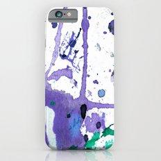 purple splash Slim Case iPhone 6s