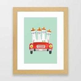 The four amigos Framed Art Print